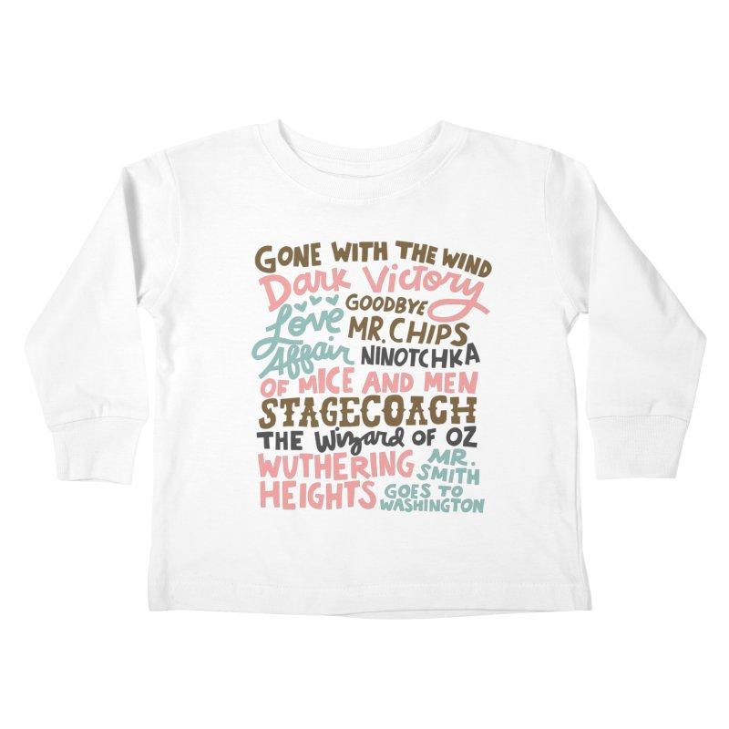 1939 Kids Toddler Longsleeve T-Shirt by Kate Gabrielle's Artist Shop