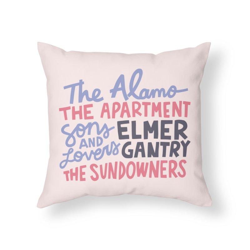 1960 Home Throw Pillow by Kate Gabrielle's Artist Shop