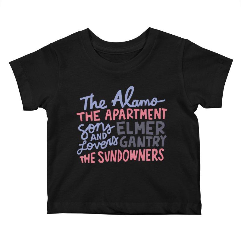 1960 Kids Baby T-Shirt by Kate Gabrielle's Artist Shop