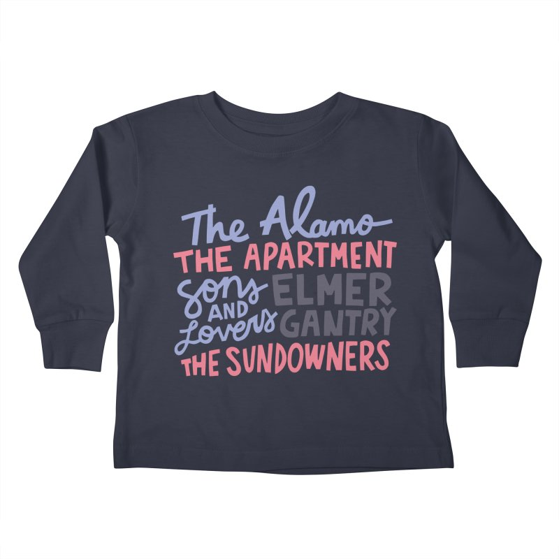 1960 Kids Toddler Longsleeve T-Shirt by Kate Gabrielle's Artist Shop
