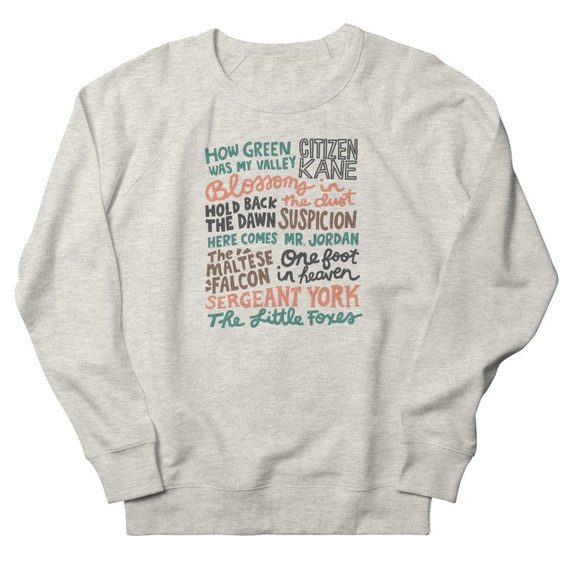1941 Women's French Terry Sweatshirt by Kate Gabrielle's Artist Shop