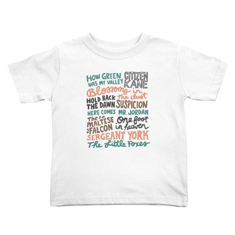1941 Kids Toddler T-Shirt by Kate Gabrielle's Artist Shop