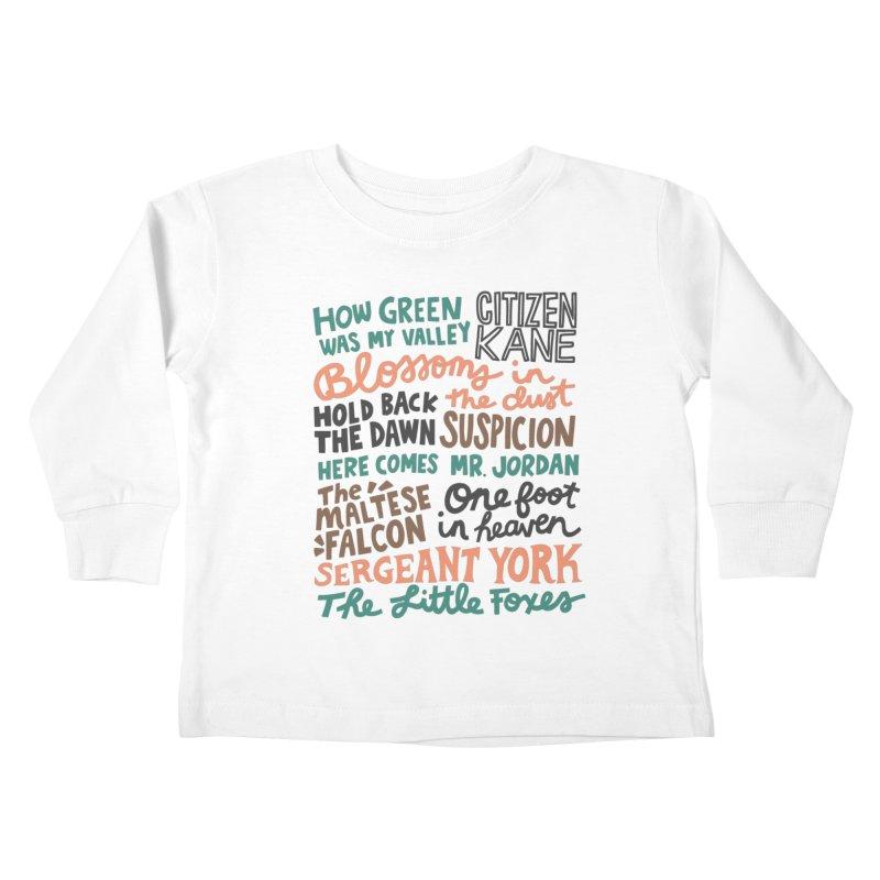 1941 Kids Toddler Longsleeve T-Shirt by Kate Gabrielle's Artist Shop
