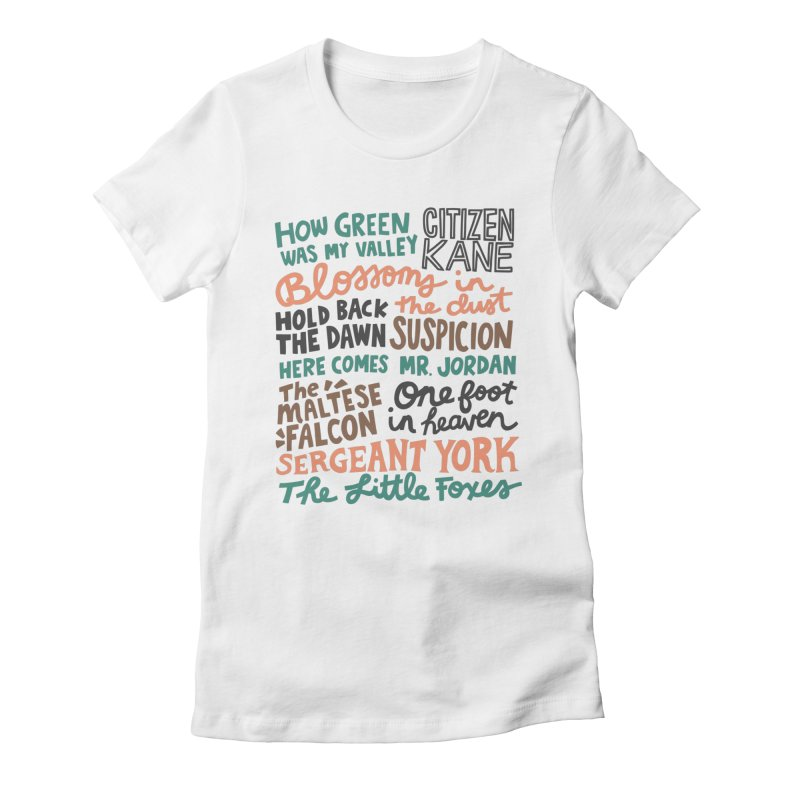 1941 Women's Fitted T-Shirt by Kate Gabrielle's Artist Shop