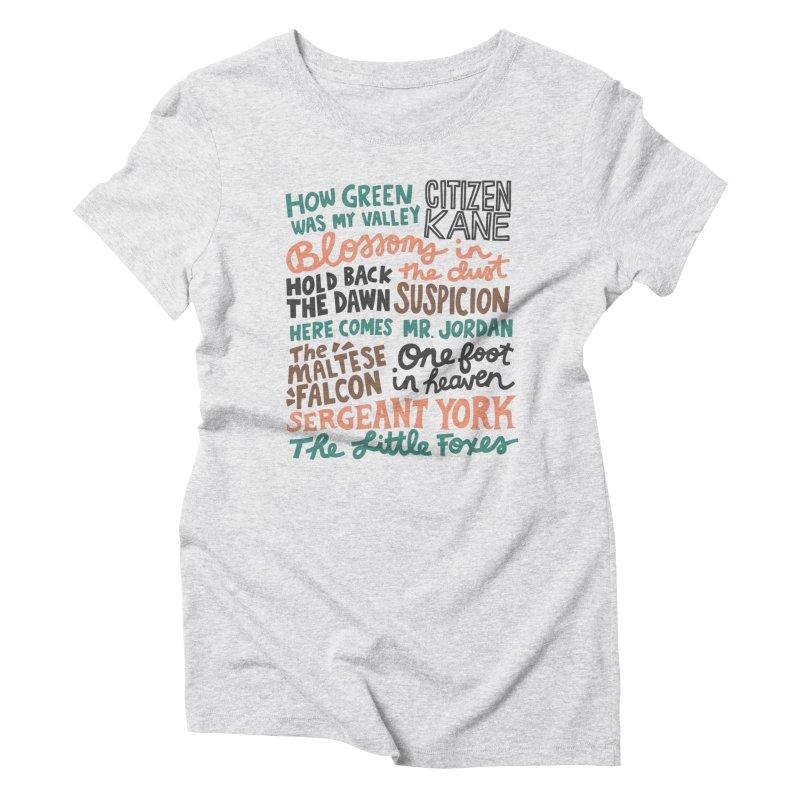 1941 Women's Triblend T-Shirt by Kate Gabrielle's Artist Shop