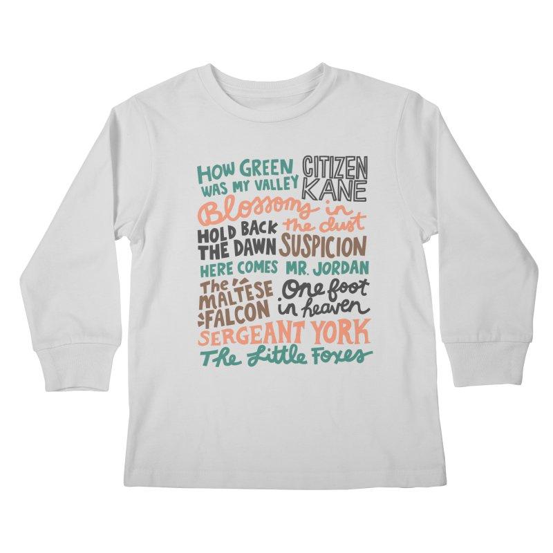 1941 Kids Longsleeve T-Shirt by Kate Gabrielle's Artist Shop