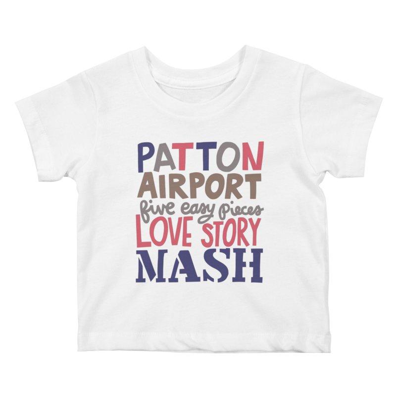1970 Kids Baby T-Shirt by Kate Gabrielle's Artist Shop