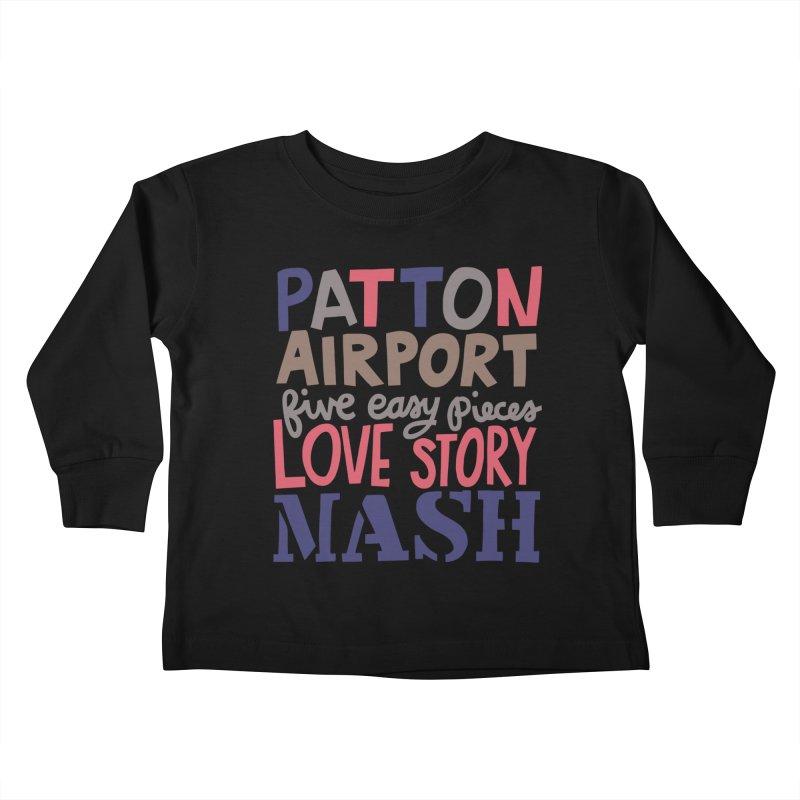 1970 Kids Toddler Longsleeve T-Shirt by Kate Gabrielle's Artist Shop