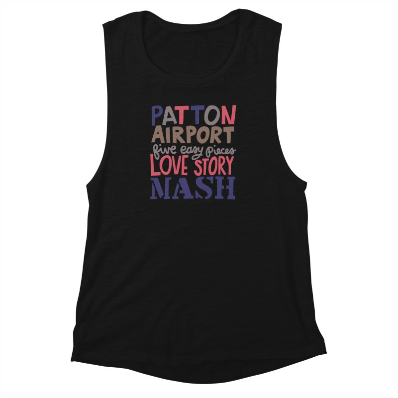1970 Women's Muscle Tank by Kate Gabrielle's Artist Shop