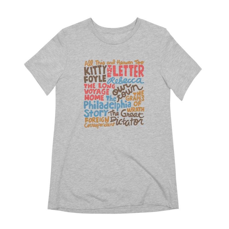 1940 Women's Extra Soft T-Shirt by Kate Gabrielle's Artist Shop