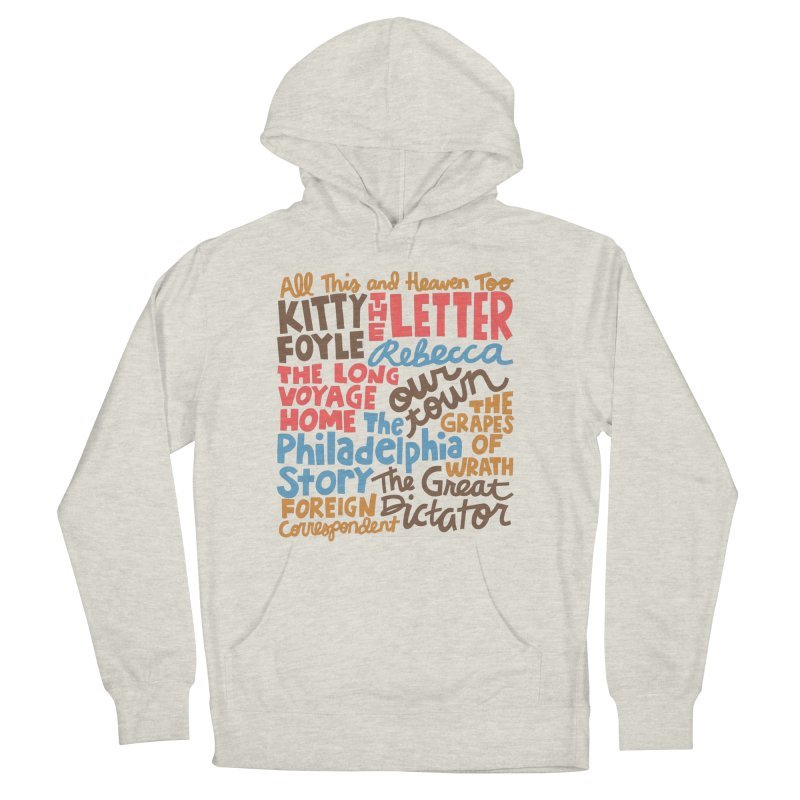 1940 Women's French Terry Pullover Hoody by Kate Gabrielle's Artist Shop