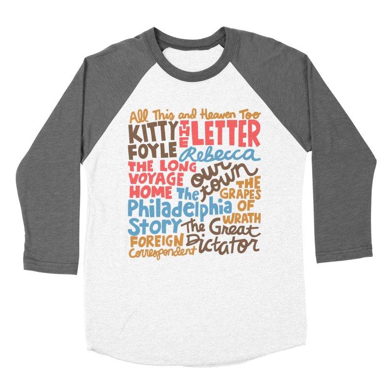 1940 Men's Baseball Triblend Longsleeve T-Shirt by Kate Gabrielle's Artist Shop