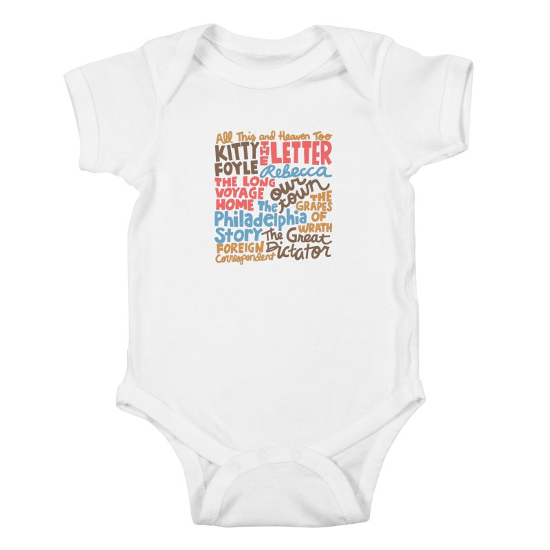1940 Kids Baby Bodysuit by Kate Gabrielle's Artist Shop