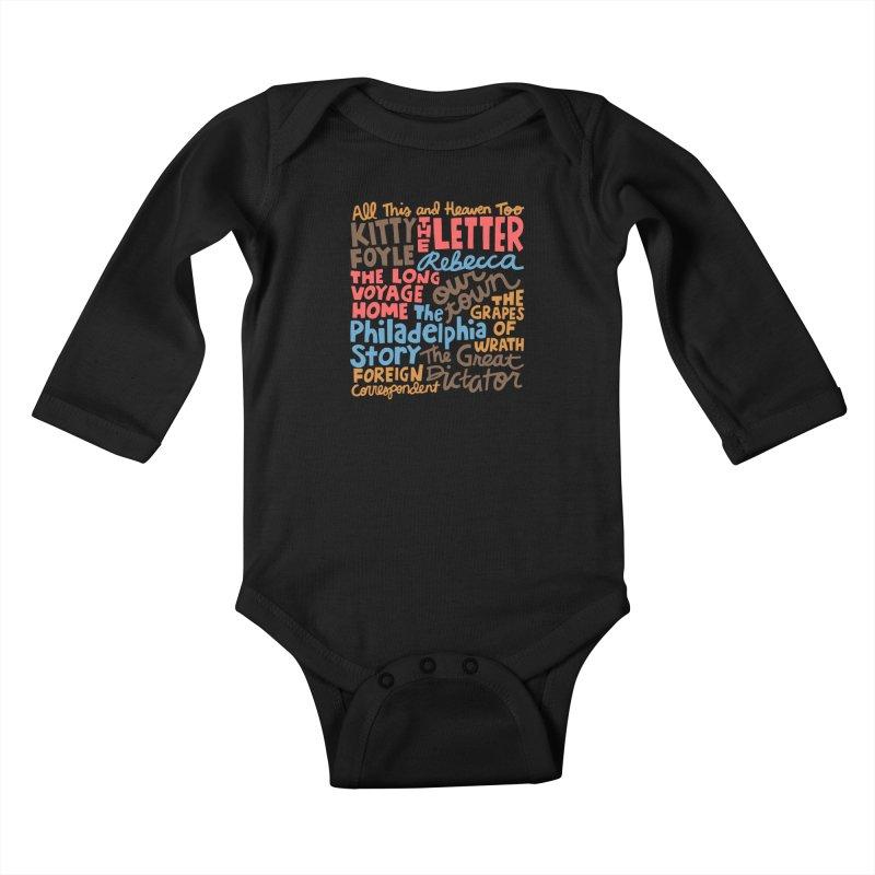 1940 Kids Baby Longsleeve Bodysuit by Kate Gabrielle's Artist Shop