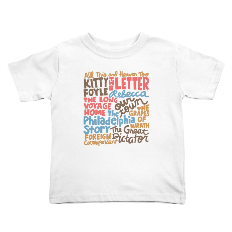 1940 Kids Toddler T-Shirt by Kate Gabrielle's Artist Shop