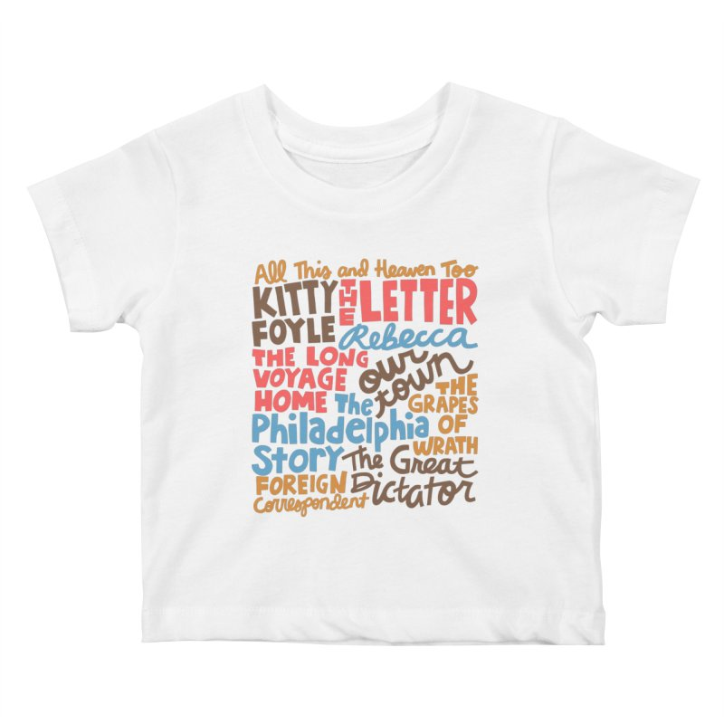 1940 Kids Baby T-Shirt by Kate Gabrielle's Artist Shop