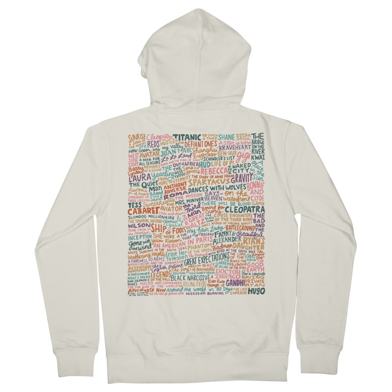 Best Cinematography (color) Women's French Terry Zip-Up Hoody by Kate Gabrielle's Artist Shop