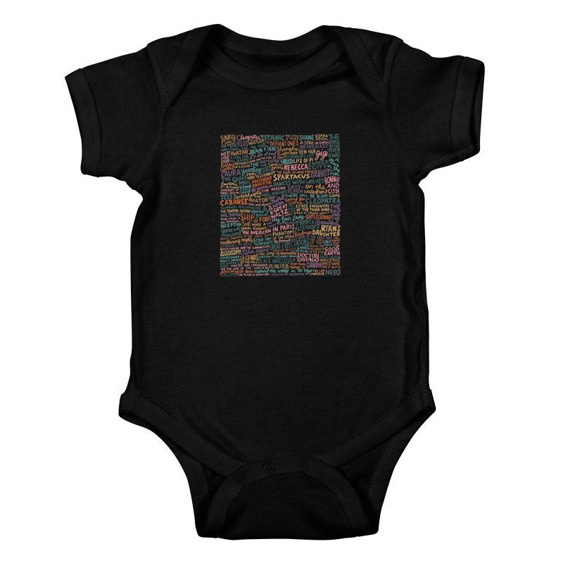Best Cinematography (color) Kids Baby Bodysuit by Kate Gabrielle's Artist Shop