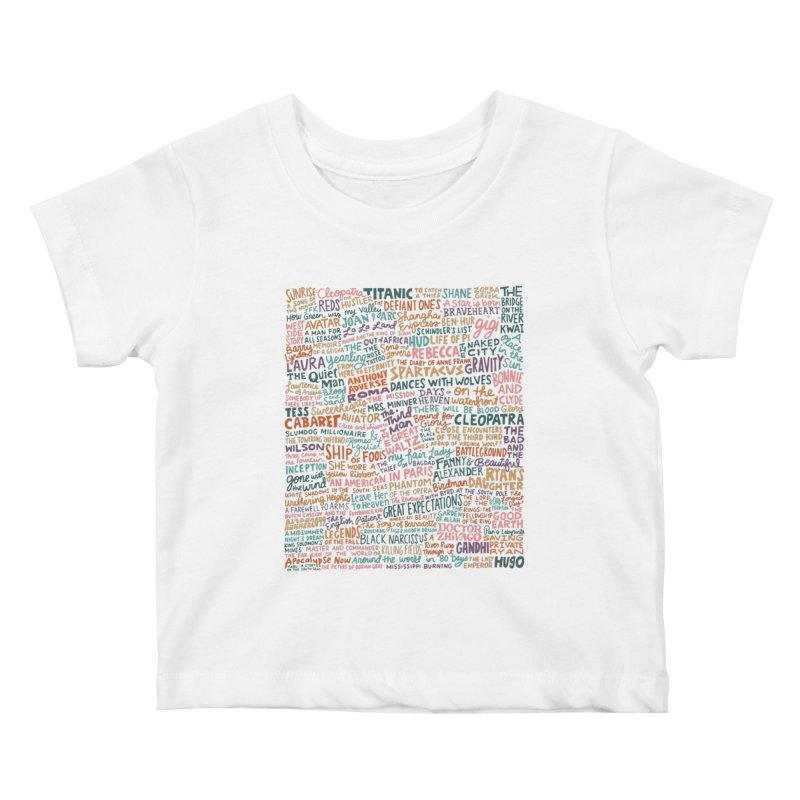 Best Cinematography (color) Kids Baby T-Shirt by Kate Gabrielle's Artist Shop