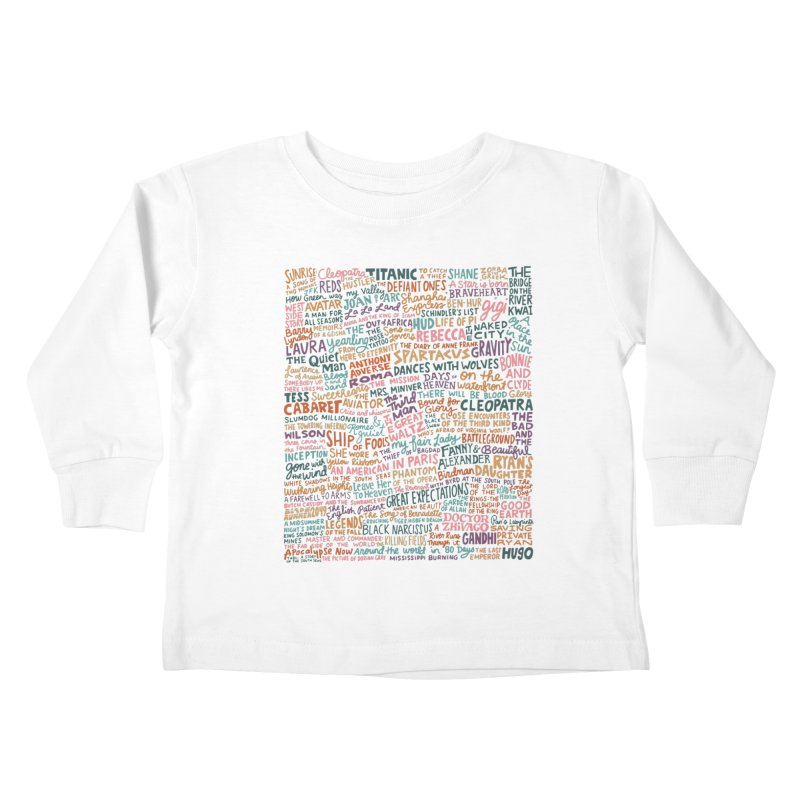 Best Cinematography (color) Kids Toddler Longsleeve T-Shirt by Kate Gabrielle's Artist Shop