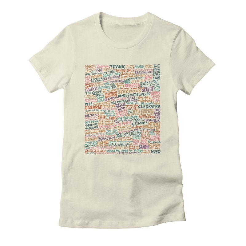 Best Cinematography (color) Women's Fitted T-Shirt by Kate Gabrielle's Artist Shop
