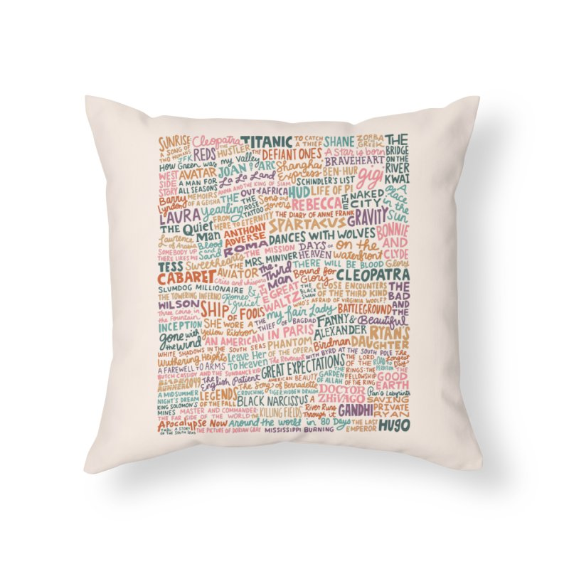 Best Cinematography (color) Home Throw Pillow by Kate Gabrielle's Artist Shop