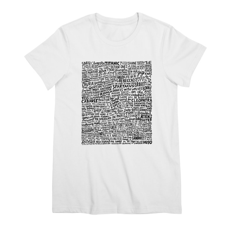 Best Cinematography (black and white) Women's Premium T-Shirt by Kate Gabrielle's Artist Shop