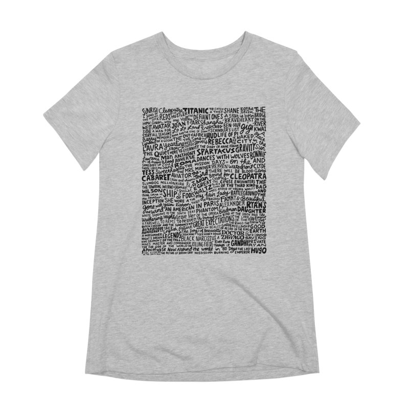 Best Cinematography (black and white) Women's Extra Soft T-Shirt by Kate Gabrielle's Artist Shop