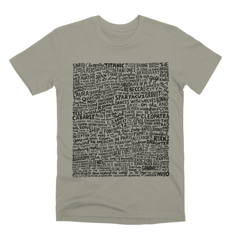 Best Cinematography (black and white) Men's Premium T-Shirt by Kate Gabrielle's Artist Shop