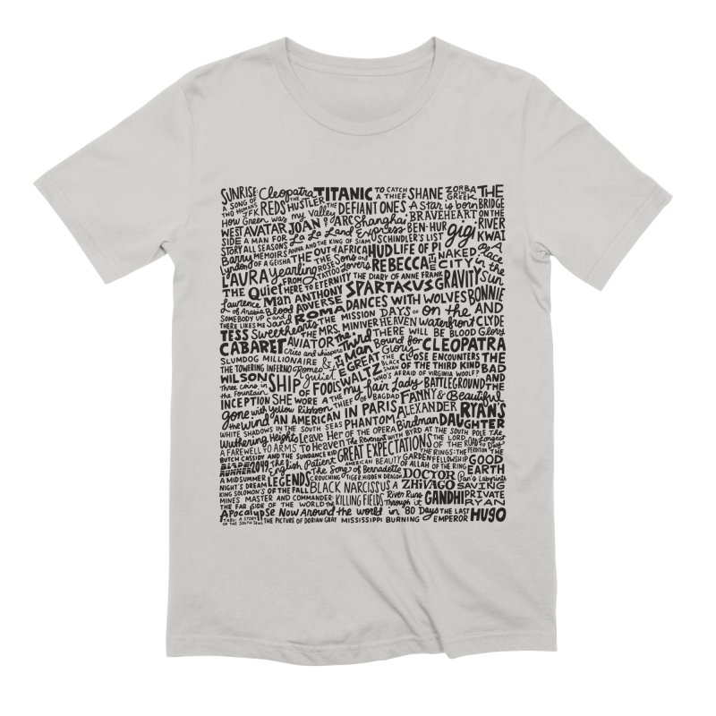 Best Cinematography (black and white) Men's Extra Soft T-Shirt by Kate Gabrielle's Artist Shop