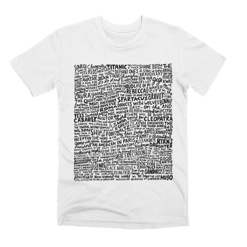 Best Cinematography (black and white) Men's Premium T-Shirt by Kate Gabrielle's Artist Shop