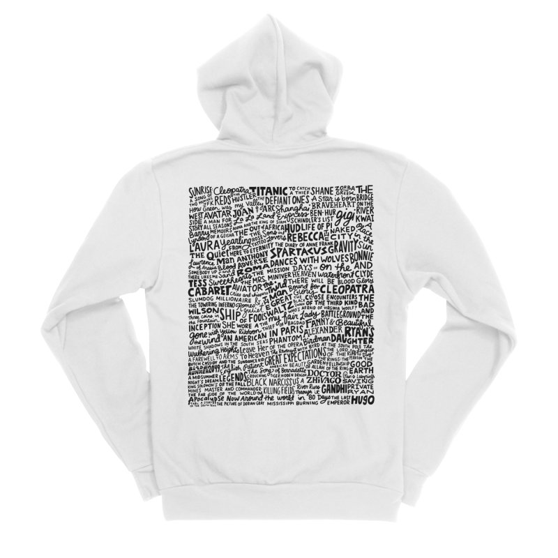 Best Cinematography (black and white) Women's Sponge Fleece Zip-Up Hoody by Kate Gabrielle's Artist Shop