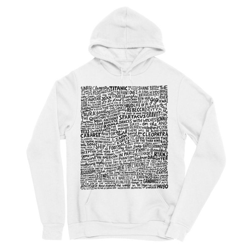 Best Cinematography (black and white) Men's Sponge Fleece Pullover Hoody by Kate Gabrielle's Artist Shop