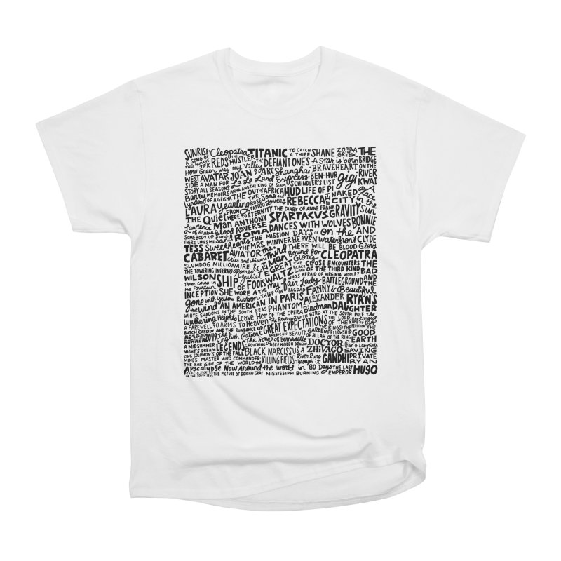 Best Cinematography (black and white) Women's Heavyweight Unisex T-Shirt by Kate Gabrielle's Artist Shop