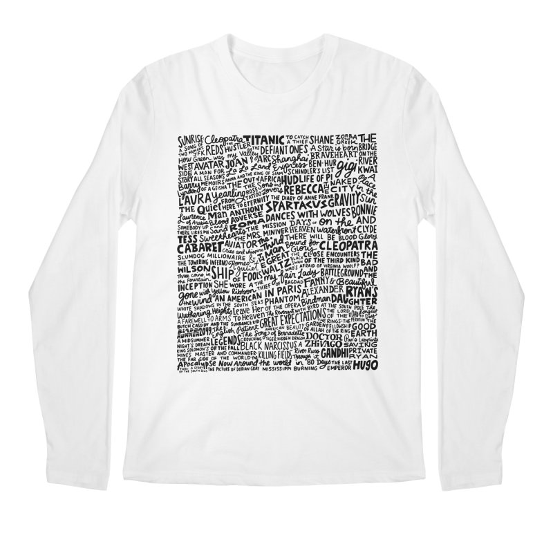 Best Cinematography (black and white) Men's Regular Longsleeve T-Shirt by Kate Gabrielle's Artist Shop