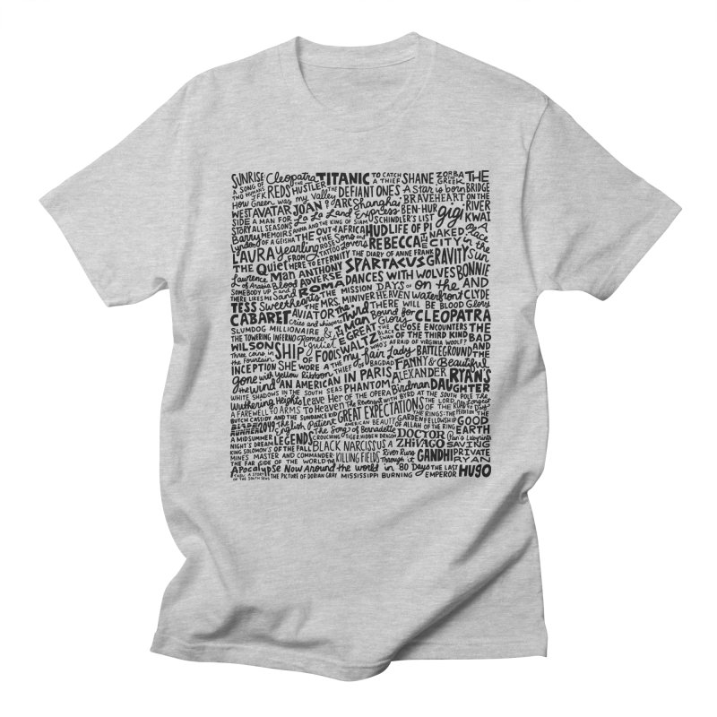 Best Cinematography (black and white) Men's Regular T-Shirt by Kate Gabrielle's Artist Shop