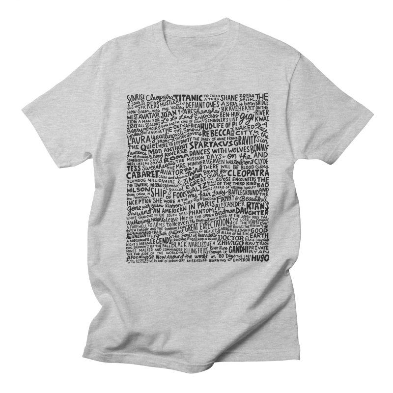 Best Cinematography (black and white) Women's Regular Unisex T-Shirt by Kate Gabrielle's Artist Shop