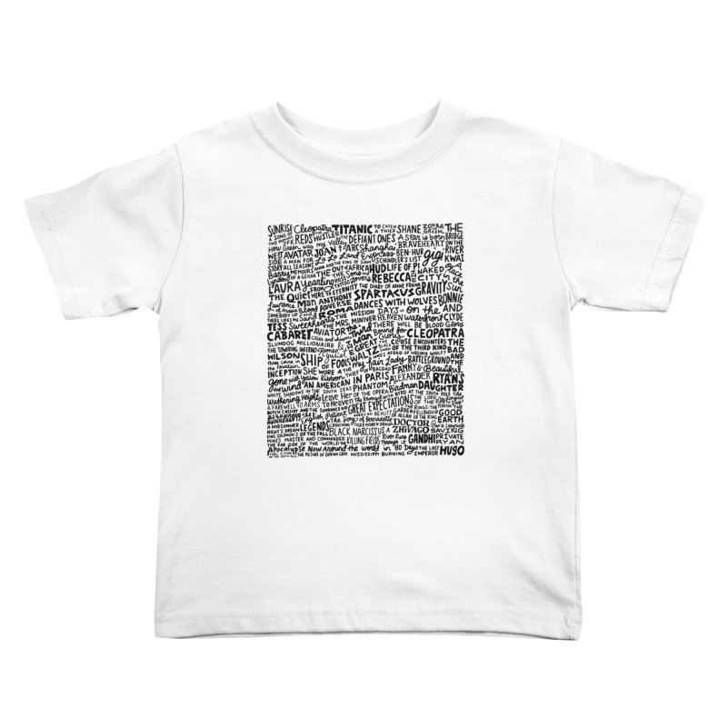 Best Cinematography (black and white) Kids Toddler T-Shirt by Kate Gabrielle's Artist Shop