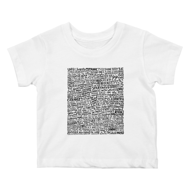 Best Cinematography (black and white) Kids Baby T-Shirt by Kate Gabrielle's Artist Shop