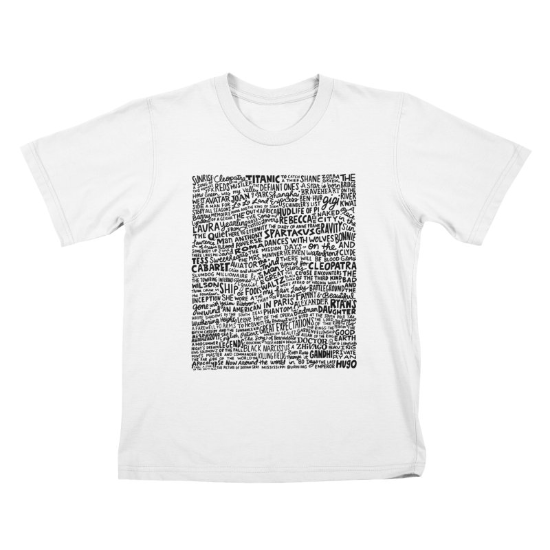 Best Cinematography (black and white) Kids T-Shirt by Kate Gabrielle's Artist Shop