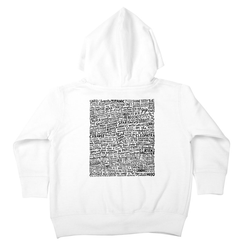 Best Cinematography (black and white) Kids Toddler Zip-Up Hoody by Kate Gabrielle's Artist Shop