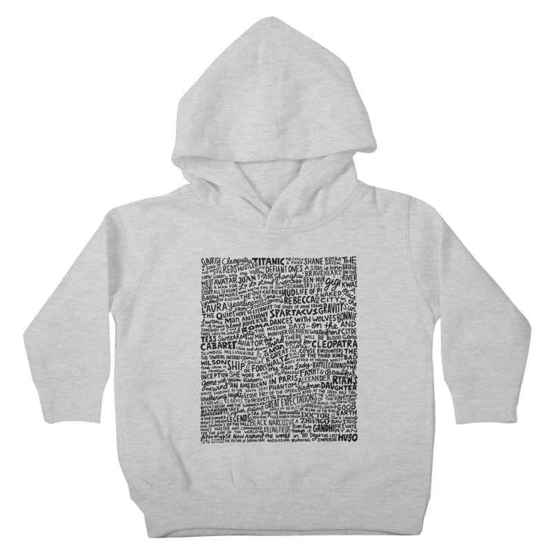 Best Cinematography (black and white) Kids Toddler Pullover Hoody by Kate Gabrielle's Artist Shop