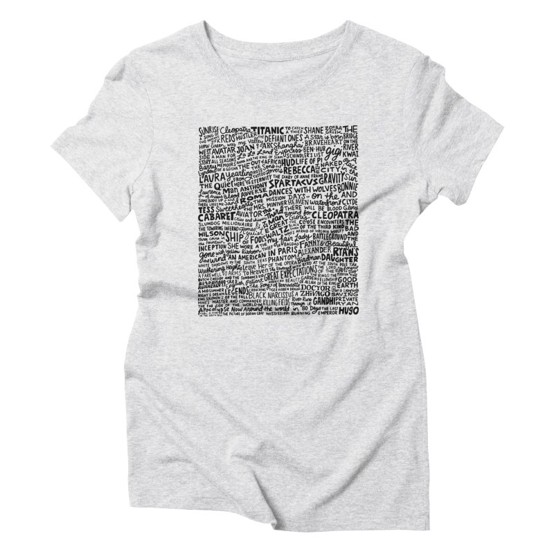 Best Cinematography (black and white) Women's Triblend T-Shirt by Kate Gabrielle's Artist Shop