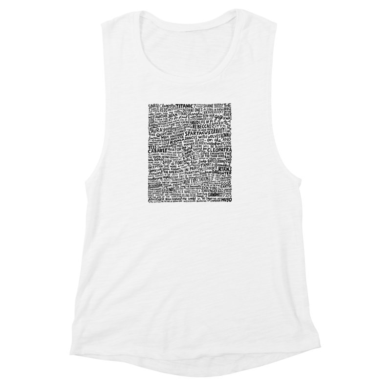 Best Cinematography (black and white) Women's Muscle Tank by Kate Gabrielle's Artist Shop