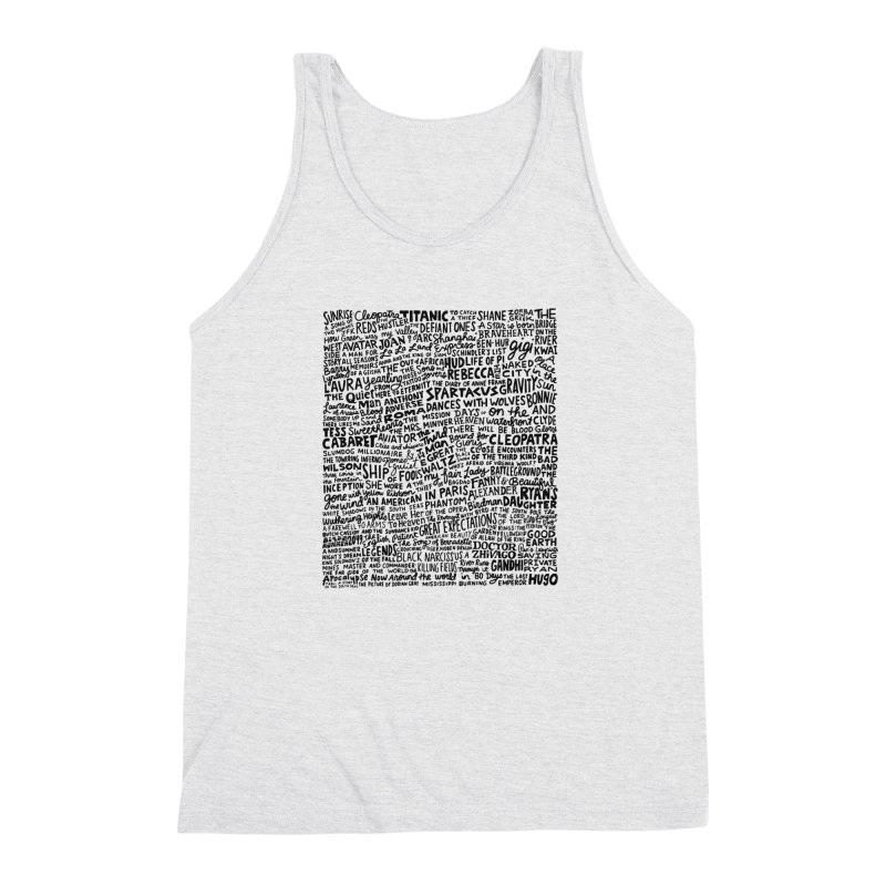 Best Cinematography (black and white) Men's Triblend Tank by Kate Gabrielle's Artist Shop