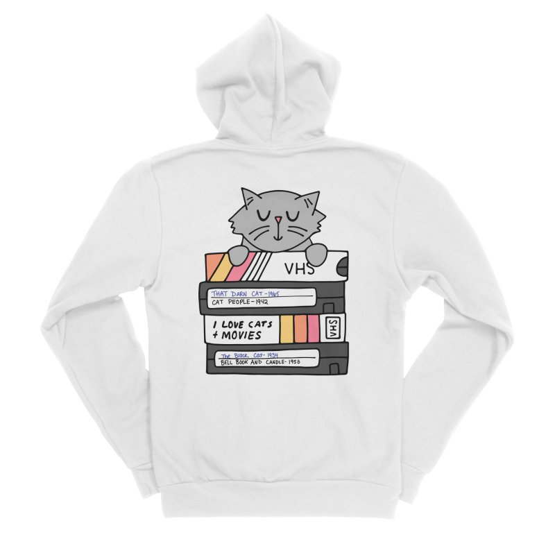 Cats and movies Men's Zip-Up Hoody by Kate Gabrielle's Threadless Shop