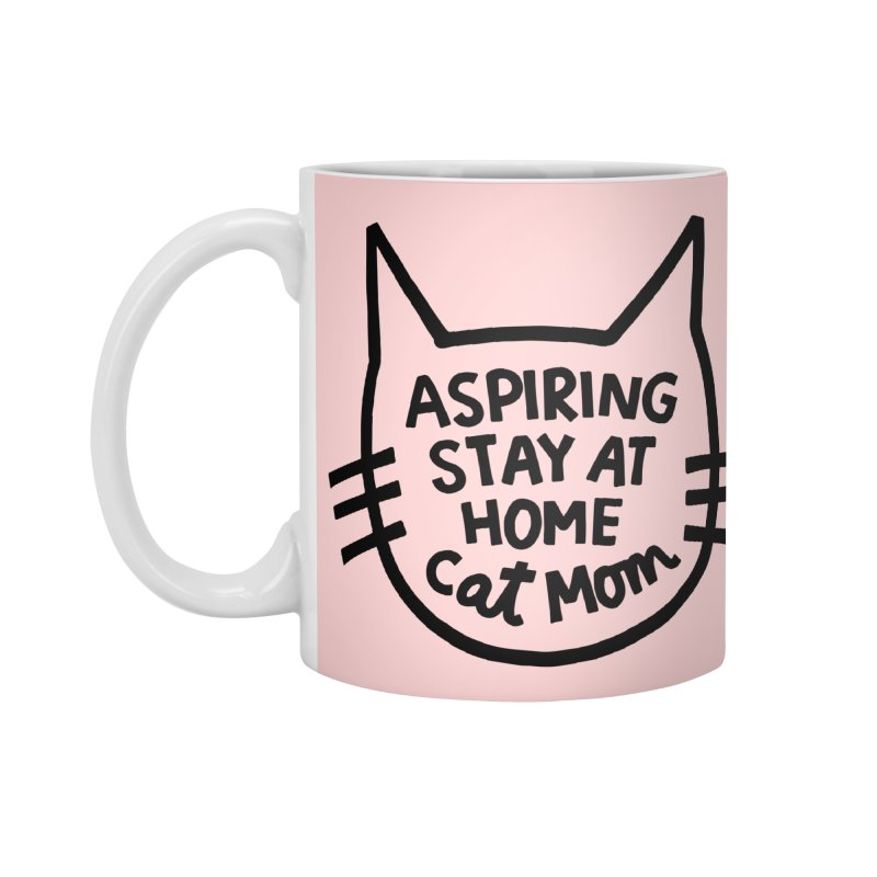 Cat mom Accessories Standard Mug by Kate Gabrielle's Artist Shop