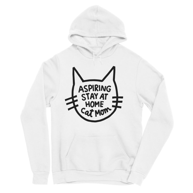 Cat mom Men's Sponge Fleece Pullover Hoody by Kate Gabrielle's Artist Shop