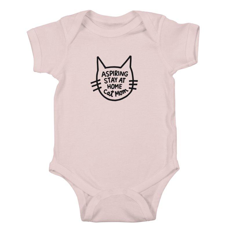 Cat mom Kids Baby Bodysuit by Kate Gabrielle's Artist Shop