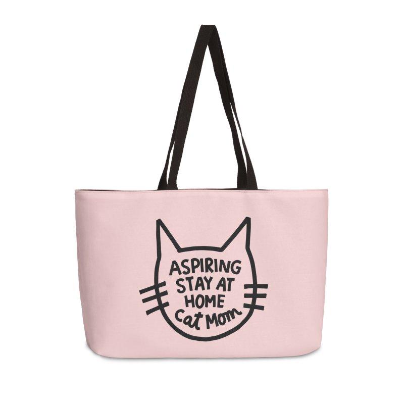 Cat mom Accessories Weekender Bag Bag by Kate Gabrielle's Artist Shop
